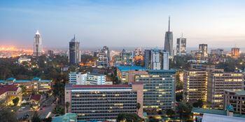 kenya skyline